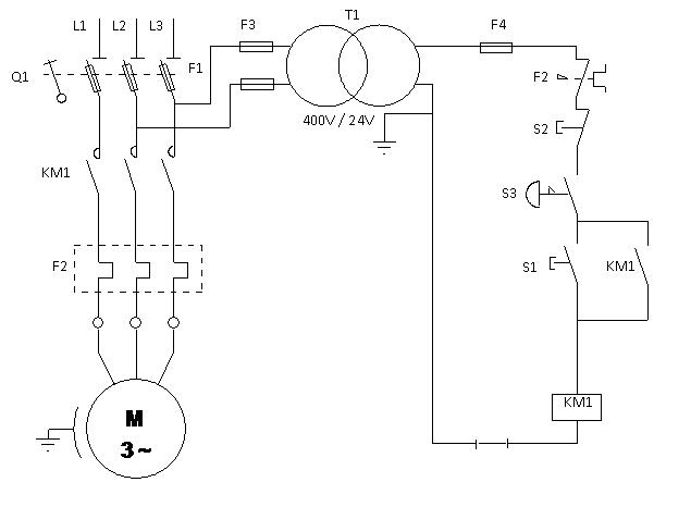 Comment calculer le courant de démarrage d'un moteur?