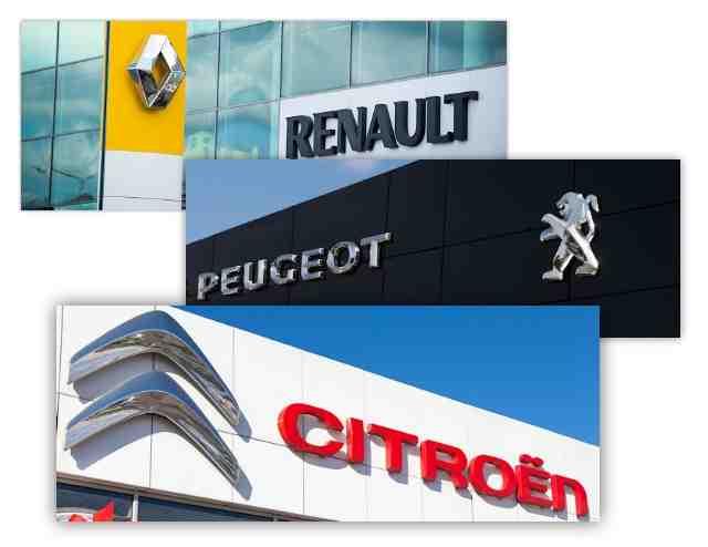 Que sont les voitures fabriquées en France?