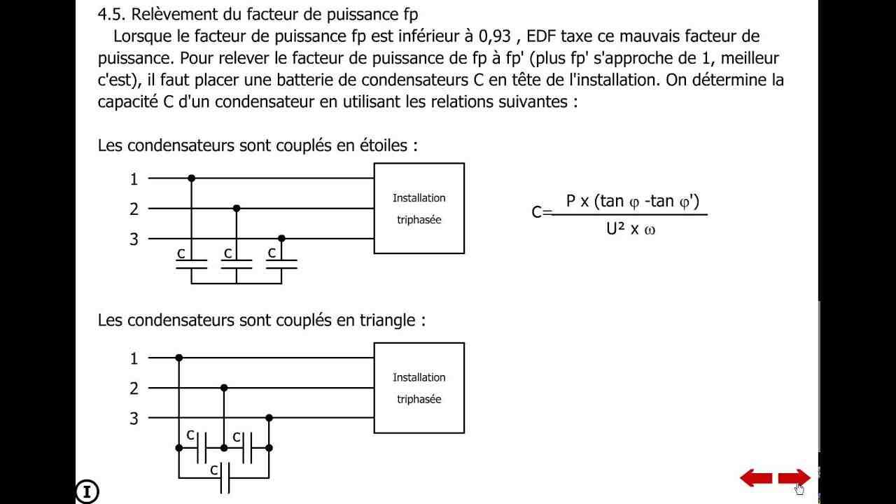 Comment calculer la consommation électrique triphasée?