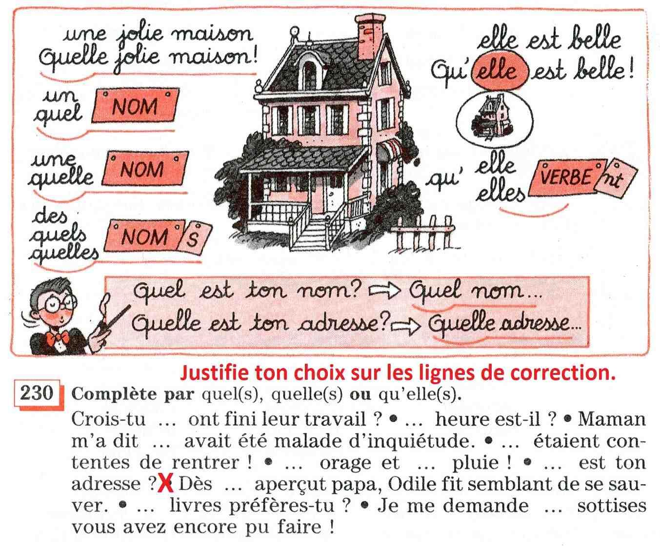 Lequel quel quel quel français est facile?