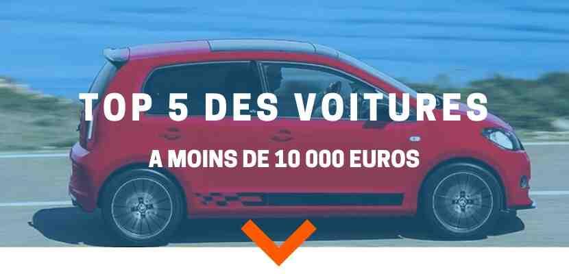 Quelle voiture pour un budget de 10.000 euros ?