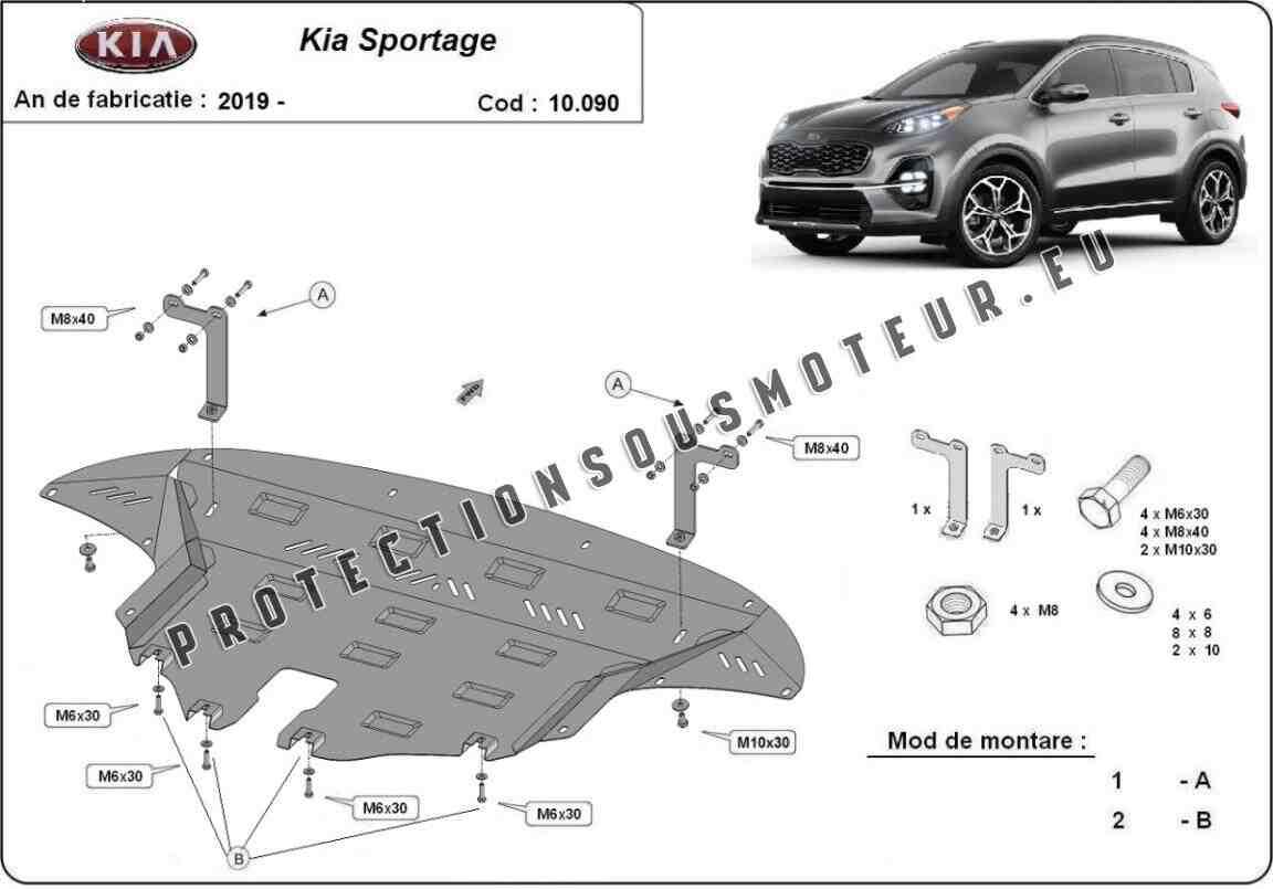 Qui fabrique le moteur du Kia Sportage ?