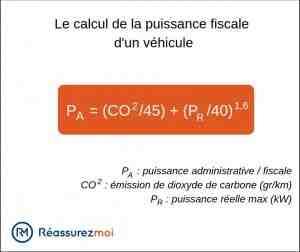 Comment connaître la puissance d'une voiture ?