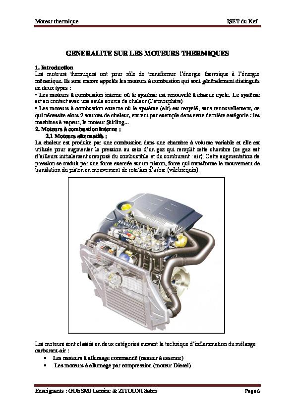 Comment la combustion est-elle initiée pour un moteur diesel?