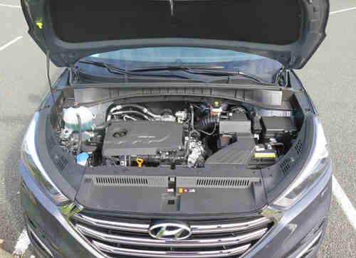 Quel moteur Hyundai Tucson?